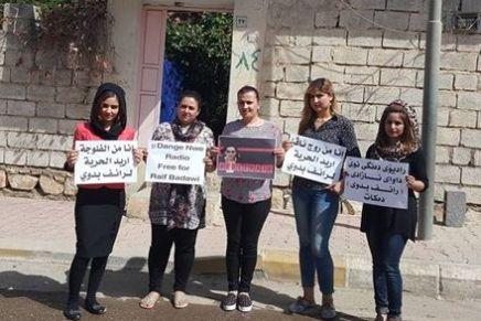 Wir gratulieren: Die Journalistinnen des Flüchtlingsradios in Halabja erhalten den Raif Badawi Preis2016
