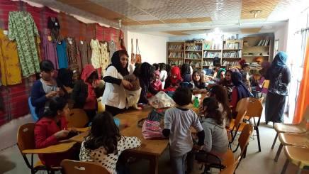 Das Halabja-Frauenzentrum