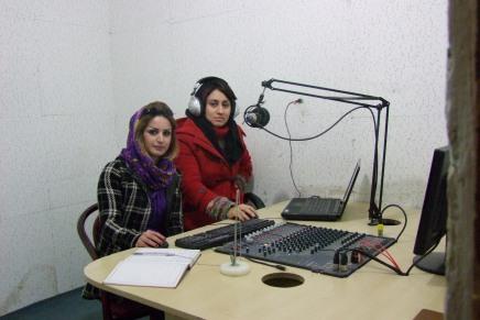 "Frauen-Radio ""Zaghvat Al-Aghvar"" inJordanien"