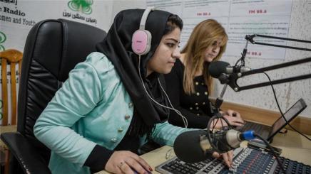 Ein Radio von Flüchtlingen für Flüchtlinge in Irakisch-Kurdistan