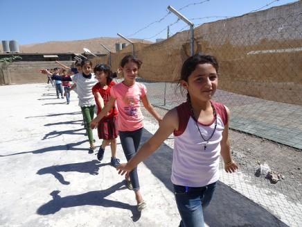 Die Afrin-Schule: Wo syrische Flüchtlingskinder wieder lernenkönnen