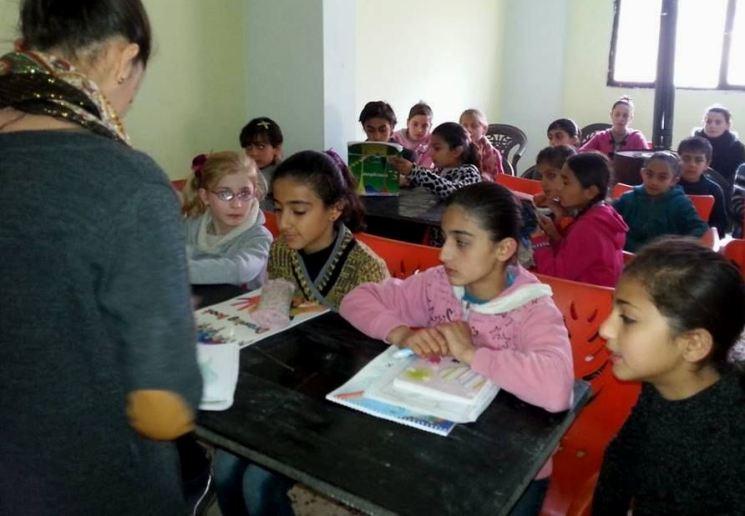 Schule von Zelal in Quamishli