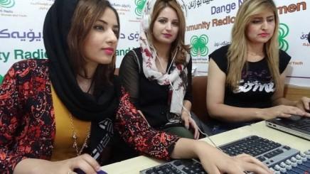 Das Frauenradio im irakischenHalabdscha