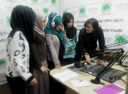 Citizenship Journalism: Neues Programm von Radio Dange NWE fürJugendliche