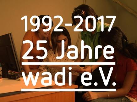 25 Jahre Einsatz fürMenschenrechte