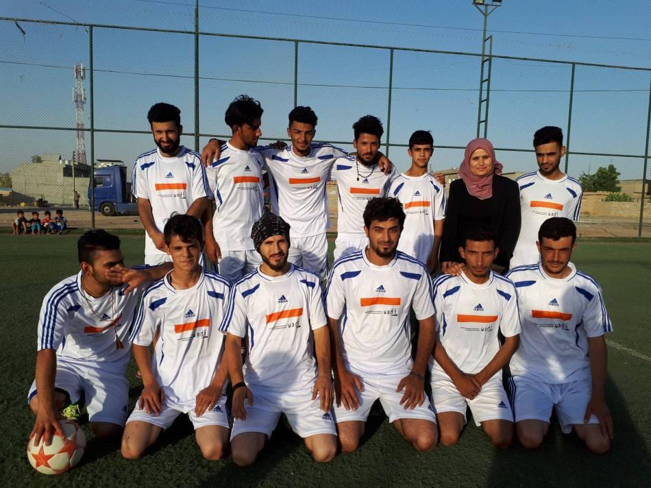 Fußballteam überwindet nationale und religiöseGrenzen