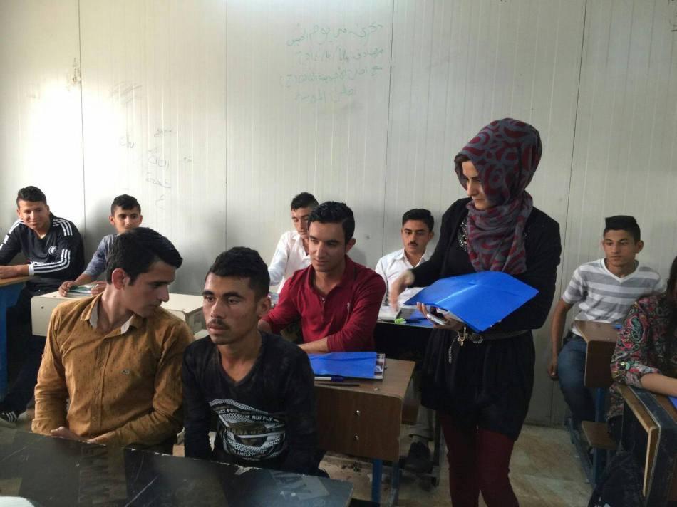 Förderung der Schulausbildung von irakischen IDPs und syrischenFlüchtlingen