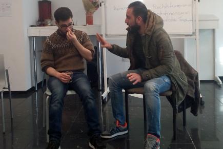 Workshops in Deutschland: Vom Flüchtling zumBürger