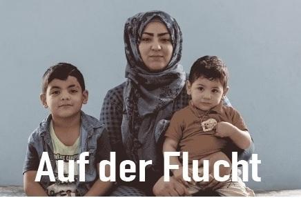 """Wadi Rundbrief Winter 2017: """"Auf derFlucht"""""""