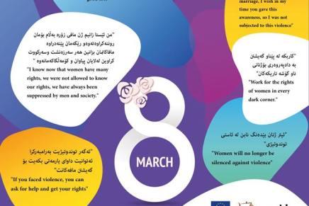 Internationaler Frauentag 2018: Wadi fordert globale Durchsetzung vonFrauenrechten