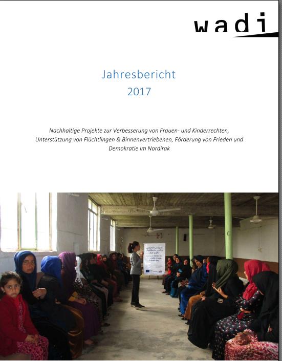 Wadi Jahresbericht 2017