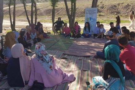 """Interview mit Wadi-Mitarbeiterinnen über die """"No-to-Violence-Kampagne"""" inGarmyan"""