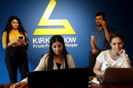 Viersprachige Berichterstattung aus Iraks umstrittenen Gebieten:KirkukNow