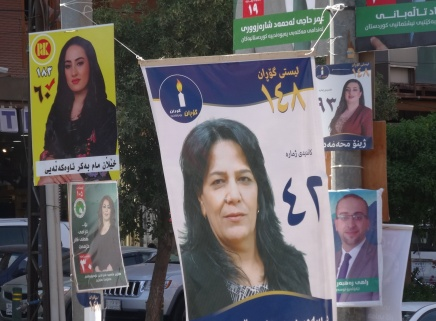 Irakisch-Kurdistan: Der Wahlkampf derFrauen