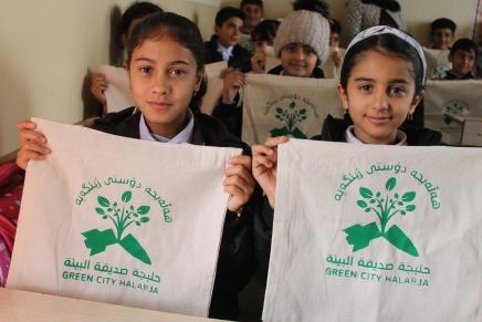"""""""Grüne Stadt Halabja"""": Für eine bessereZukunft"""