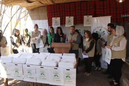Green City: Kampagne gegen Plastiktüten inHalabja