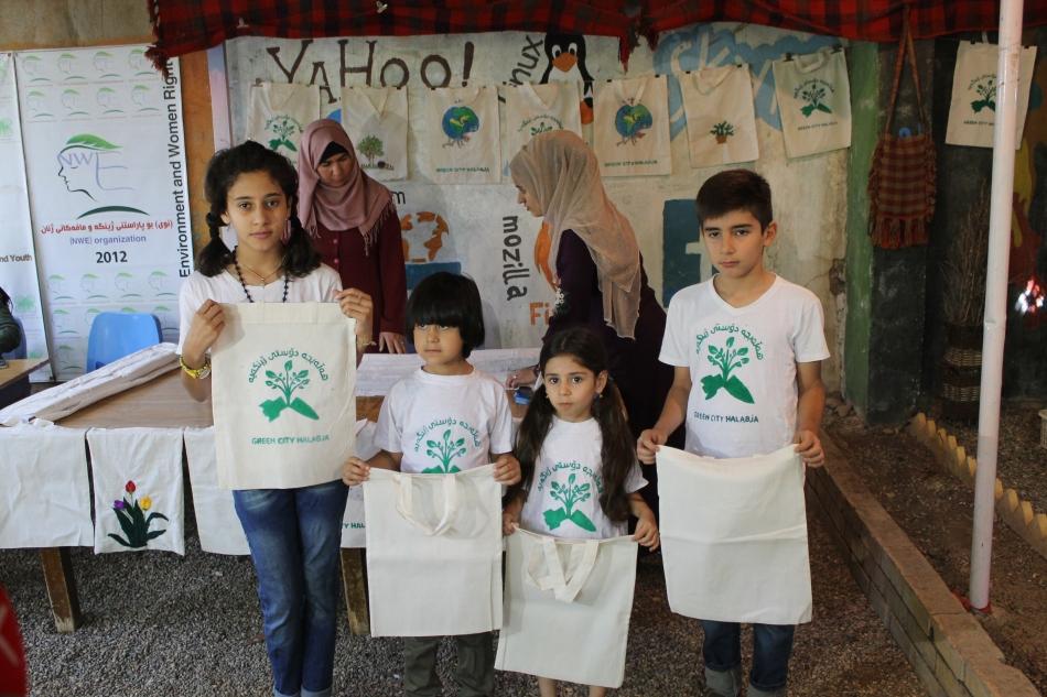 Umweltschutz und Flüchtlingsintegration: Halabja soll Plastiktütenfrei werden