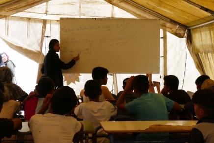 Unterstützung geflüchteter Kinder inLesbos