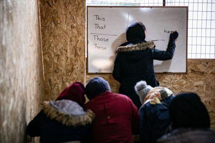 Unterstützung von Flüchtlingen inGriechenland