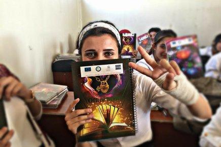 Schulbildung für Flüchtlingskinder imNordirak
