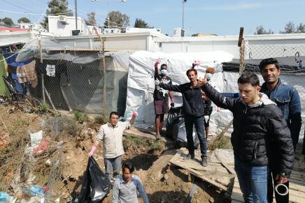 Wadis Arbeit während des Lockdowns in derCorona-Krise