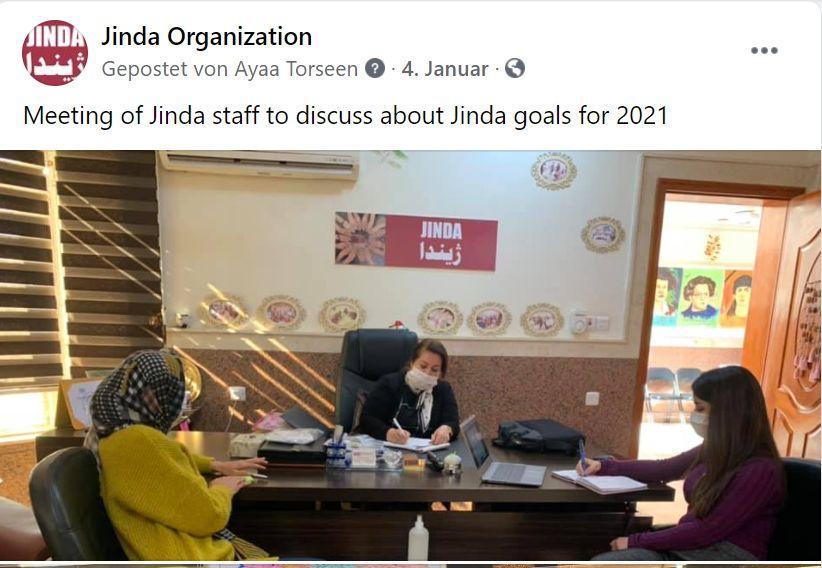 Jinda auf Facebook